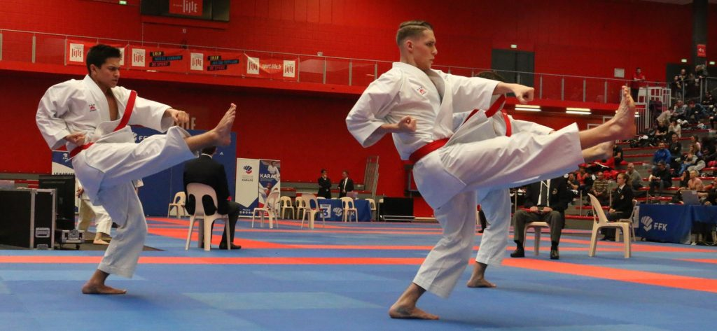 Photos championnat de France  kata 2019